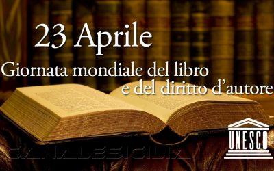23 Aprile Giornata Mondiale del libro e del diritto d'autore
