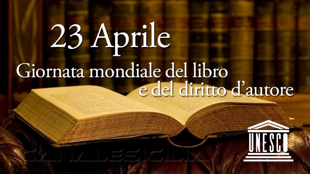 23 Aprile Giornata Mondiale del libro e del diritto d'autore 2021
